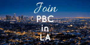Join the LA chapter of PBC!
