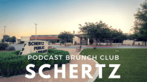 Schertz library chapter of Podcast Brunch Club