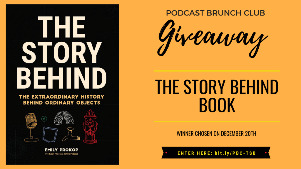 The Story Behind book giveaway - enter by December 20th for your chance to win