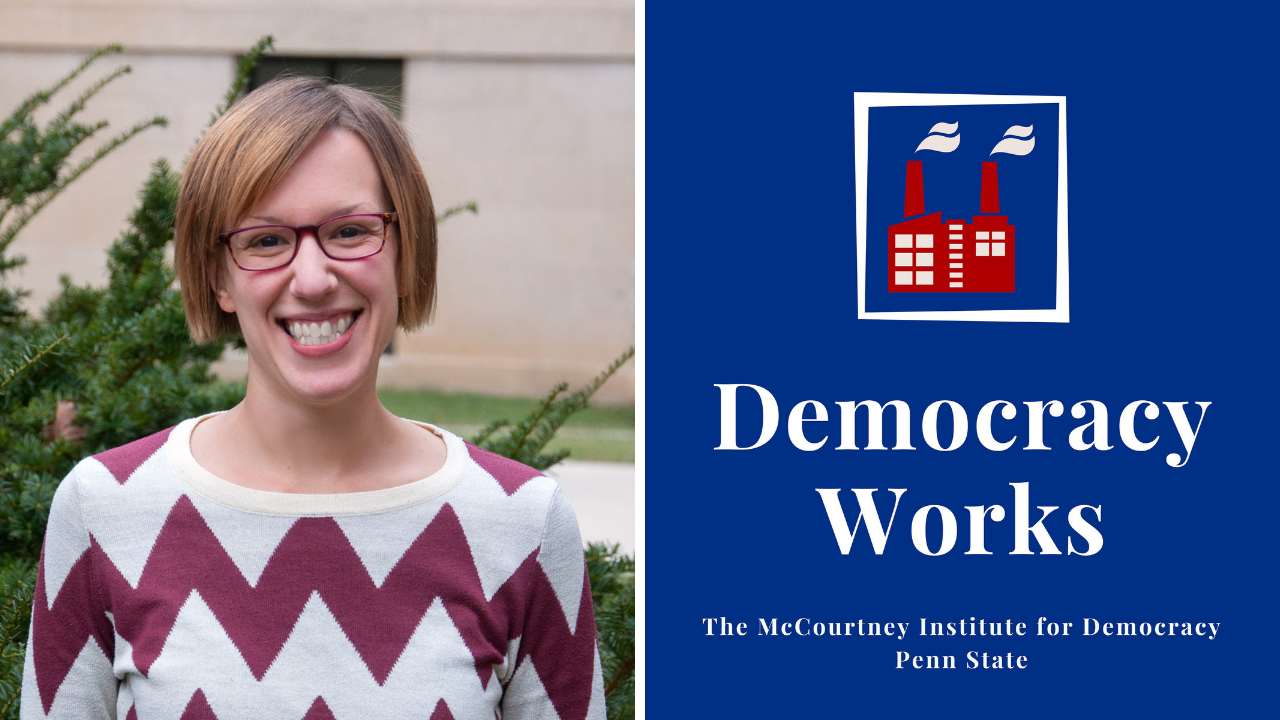 PBC Member-Creator Spotlight: Jenna Spinelle creates the Democracy Works podcast
