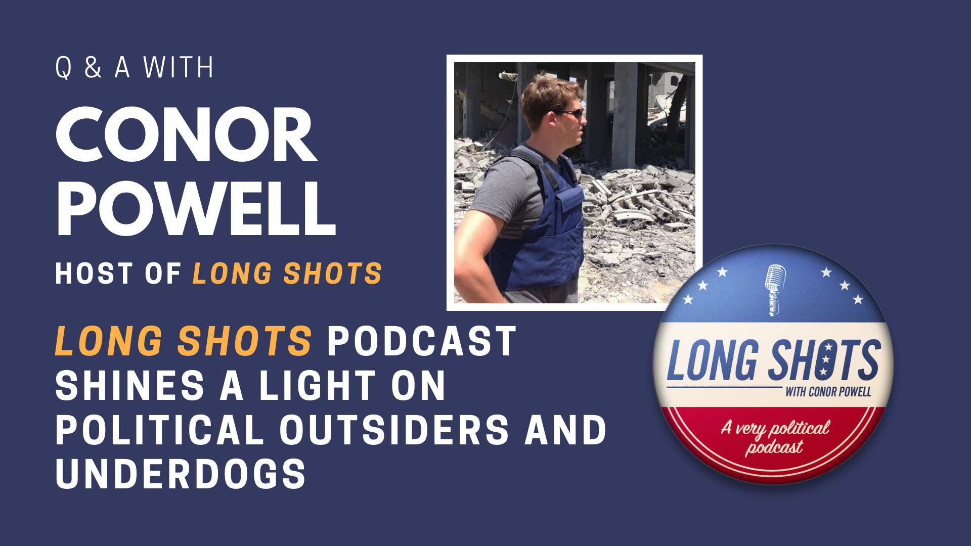<em>Long Shots</em> shines a light on political outsiders and underdogs